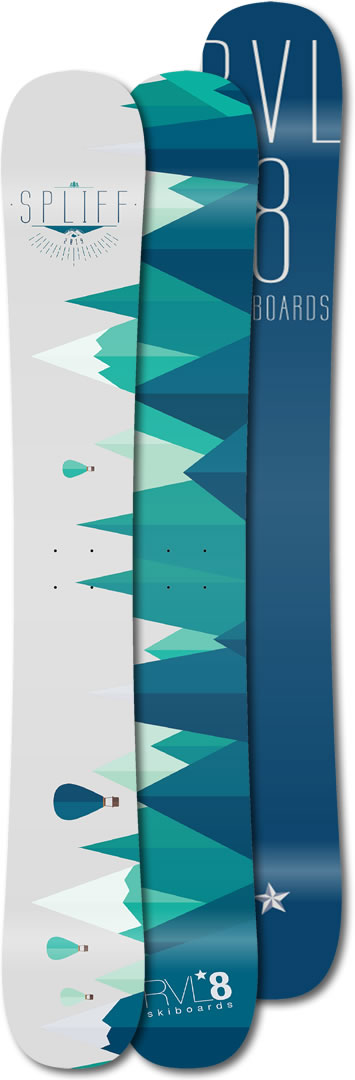 Image of RVL8 2019 Spliff 109cm Skiboards