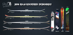 RVL8 2016 Rockered Skiboards Graphic