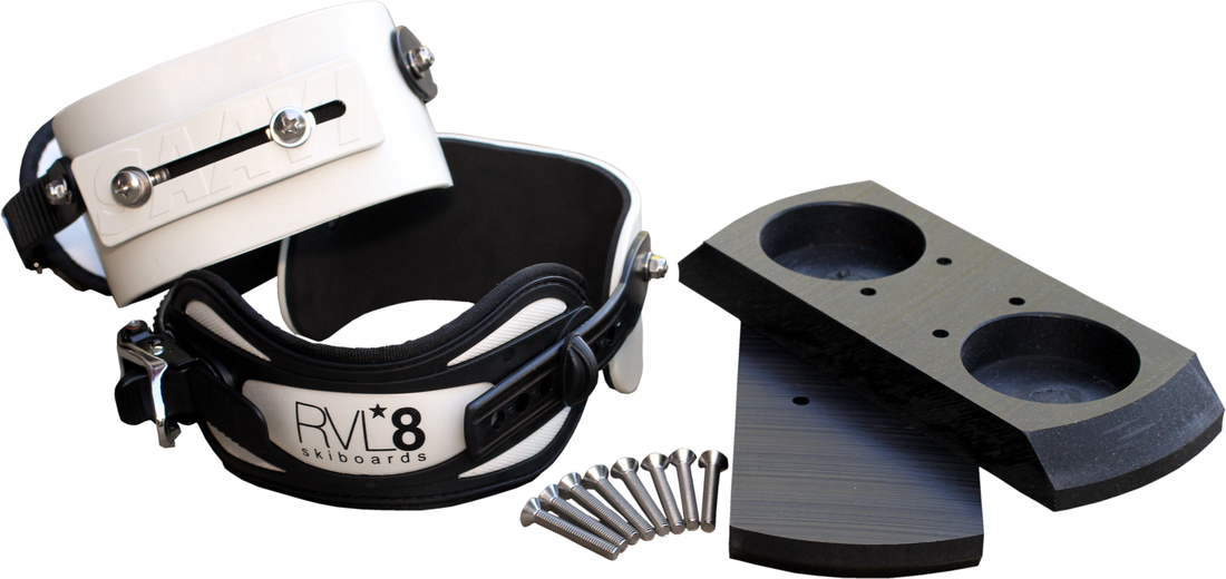 RVL8 Snowboard Binding Upgrade Kit
